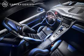 new porsche electric porsche 911 and the new blue electric carlex design