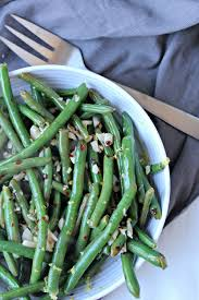 garlic green beans the secret ingredient is