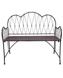 French Style Patio Furniture by Antique Finish Garden Bench U2013 Allissias Attic U0026 Vintage French
