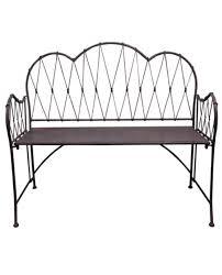 antique finish garden bench u2013 allissias attic u0026 vintage french
