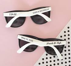 personalized wedding sunglassesset of 24 sunglasses
