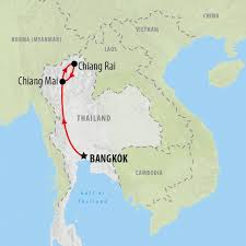 Asia On Map by Southeast Asia Tours And Holidays On The Go Tours