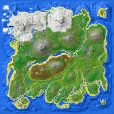 Survival Maps Resource Map The Island Official Ark Survival Evolved Wiki