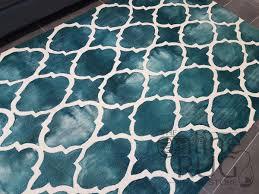 neptune teal moroccan trellis loop pile rug the online rug store