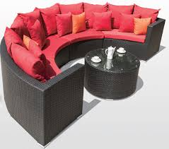 Semi Circle Couch Sofa by Awesome Half Circle Outdoor Furniture Serenity 7 Piece Semicircle