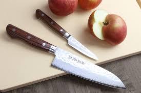 Kitchen Paring Knives Yoshihiro Vg 10 16 Layer Hammered Damascus Stainless Steel Santoku