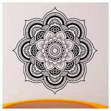 Wall Decals Vinyl Sticker Mandala by Online Shop Sale Wall Decals Mandala Yoga Ornament Indian