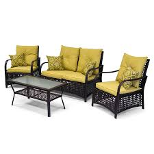 Wayfair Patio Furniture Rst Outdoor Cantina 8 Piece Sofa With Club Chair And Coral Coast