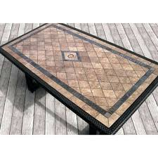 Mosaic Patio Table And Chairs Tile Top Table Beautiful Tile Patio Table Set Best Images About