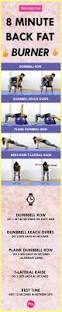 how to get rid of back fat 8 minute workout femniqe