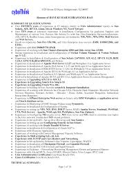 administrator resume sle 28 images network systems