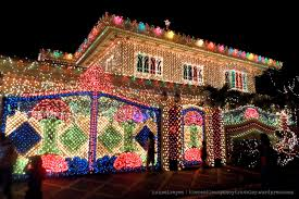 christmas village street lights christmas lights decoration