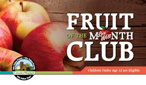 fruit of the month department produce fruit of the month club