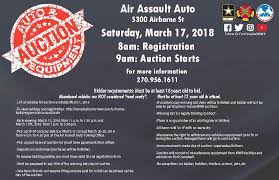 pay to bid auction fort cbell mwr to hold abandoned vehicles and equipment open