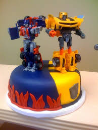 transformer cake its a stencil for a transformers cake can we make this