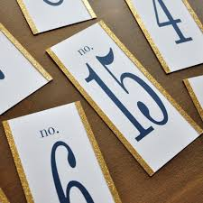 what size are table number cards table numbers 1 15 navy and gold wedding decor hand crafted in 1 3