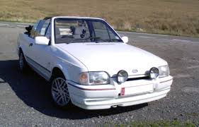 ford escort xr3i cabriolet dream garage pinterest ford and