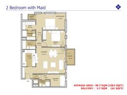 arabian ranches floor plans views 2 bedroom apartment with maid floor plan