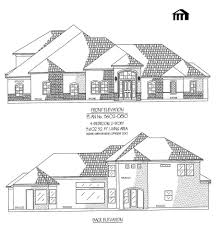 52 3 4 bedroom house plans bedroom 35 bath french country style