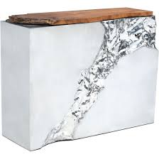 Furniture Wedge by Furniture Wedge Shaped End Table Narrow Metal Side Table Bassett