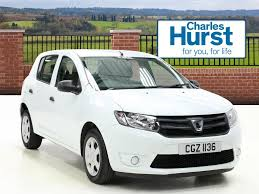 used dacia sandero white for sale motors co uk