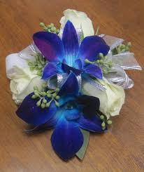 blue orchid corsage terra flowers miami wedding florists flowers roses and bouquets