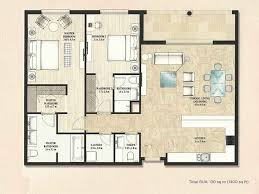 Palm Jumeirah Floor Plans by Alandalus Apartments Floor Plans U2013 Jumeirah Golf Estates Property