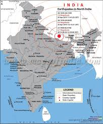map of nepal and india areas affected by earthquake in india bihar bengal assam