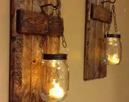 Rustic Home Decor For Sale Rustic Candle Holder Rustic Decor Sconces Hanging