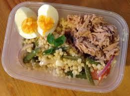 tuna niçoise couscous salad u2013 a crust eaten