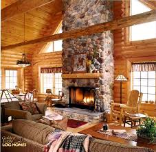 Beautiful Log Home Interiors Golden Eagle Log And Timber Homes Log Home Cabin Pictures