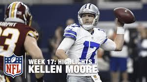 cowboys thanksgiving jerseys kellen moore throws for 435 yards u0026 3 tds redskins vs cowboys