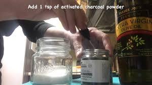 Scrub Vire activated charcoal powder scrub recipe