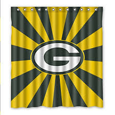 Green Bay Packers Window Curtains Peaceful Ideas Green Bay Packers Curtains Great Window With