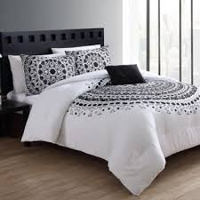 White Black Comforter Sets Buy 4 Piece White Queen Comforter Set From Bed Bath U0026 Beyond