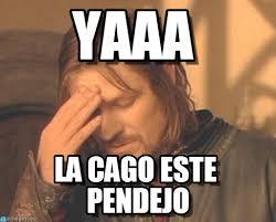 Boromir Memes - yaaa frustrated boromir meme on memegen
