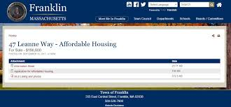 franklin matters affordable housing for sale 196 600 47