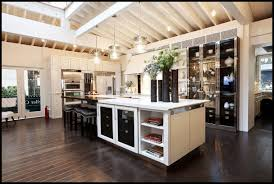 contemporary dream kitchens