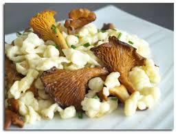 cuisiner des chanterelles spaëtzle sautées aux girolles cookismo recettes saines faciles