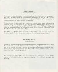 ann arbor civic theatre program carousel april 19 1978 ann