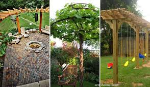 Inspiring DIY Backyard Pergola Ideas To Enhance The Outdoor Life - Backyard arbor design ideas