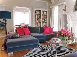 Best Blue Sofa Images On Pinterest Living Spaces Living Room - Red and blue living room decor