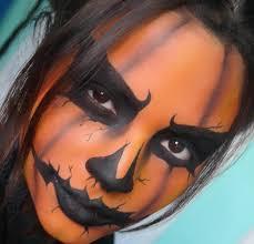 halloween makeup jack o lantern pumpkin makeup artist instagram