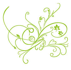 green vector floral ornament free vector graphics all free web