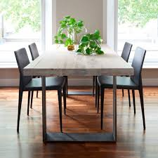 alluring modern wood dining tables emmerson reclaimed table jjpg