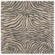 Zebra Print Outdoor Rug 316 80 8 U00279
