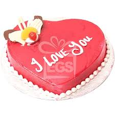 send 2lbs heart shape cake red topping pc hotel
