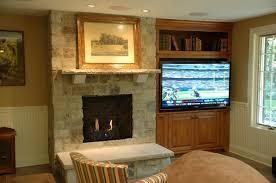 interior divine home interior decoration with stone wall panel