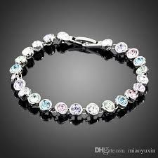 white gold crystal bracelet images 2018 neoglory jewelry swarovski elements white gold color stellux jpg