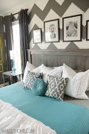 Teal And Grey Bedroom by Best 25 Grey Chevron Walls Ideas On Pinterest Pink Chevron